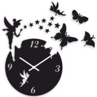 ساعت دیواری طرح پروانه