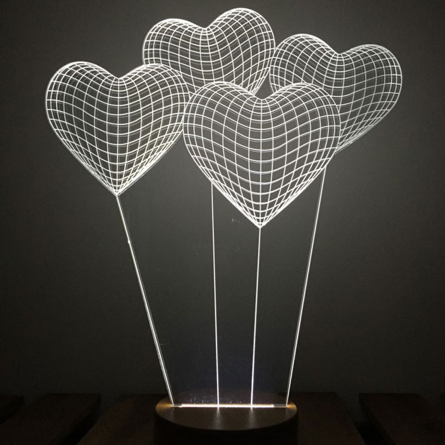 خرید چراغ خواب سه بعدی