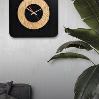 ساعت دیواری چوبی مدل جدید