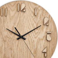 ساعت دیواری چوبی Wooden