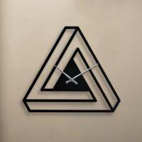 ساعت دیواری مثلثی