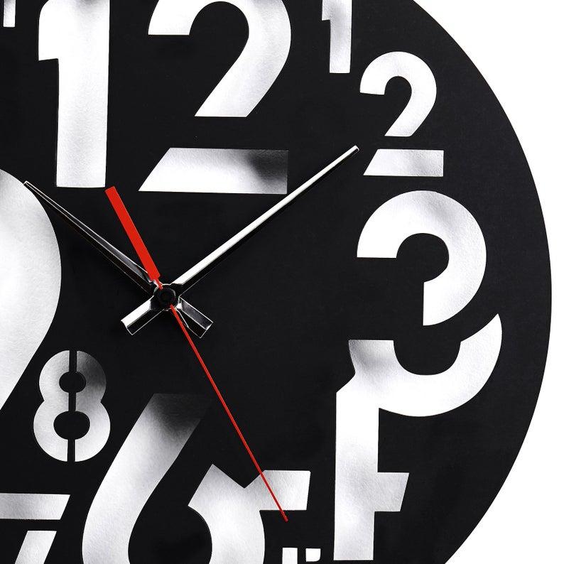 ساعت دیواری برای پذیرایی