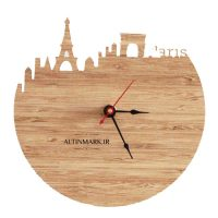 ساعت دیواری طرح برج ایفل