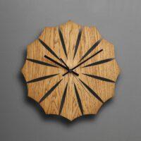 ساعت دیواری جدید چوبی (ام دی اف) در دو رنگ