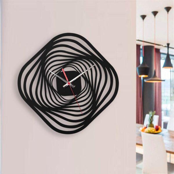 ساعت دیواری مدل blazing star چوبی از جنس MDF و در 3 رنگ