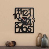 ساعت دیواری مدل cool در دو رنگ و با جنس چوبی MDF