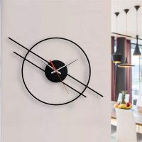 ساعت دیواری طرح مدرن در دو جنس گلس (شیشه نشکن) و MDF