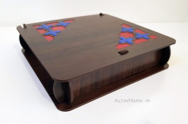 باکس هدیه طرح اسلیمی جنس چوبی MDF